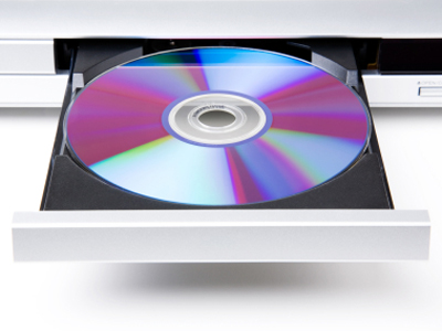 dvd player with disc drive out